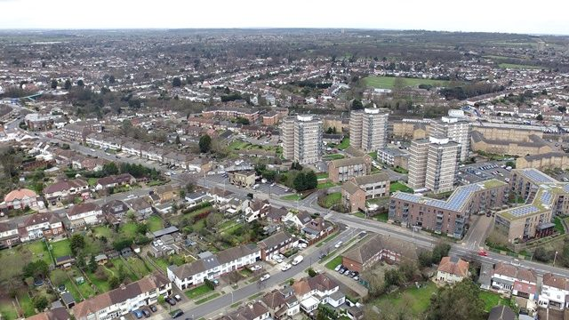 Havering aerial view