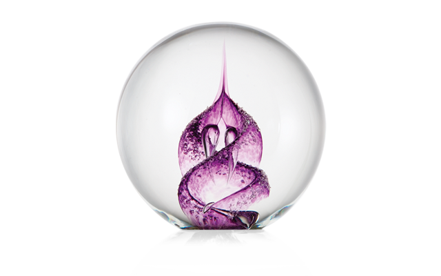 purple-paperweight